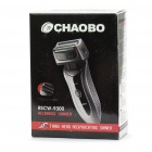 CHAOBO Rechargeable Tri-Blade Shaver Razor w/ Trimmer (220V)
