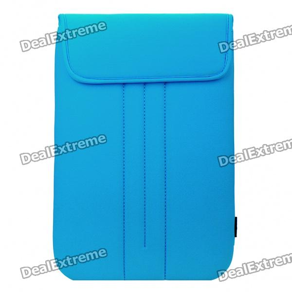 "Protective Soft Bag with Velcro Close for 14.4"" Laptop - Blue"