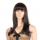 Fashion Long Hair Wigs - Dark Brown