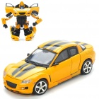Transformers Car Vehicle to Robot Figure Toys (Yellow)