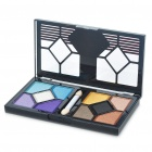 Cosmetic Makeup 10-Color Eye Shadow Kit with Brush