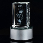 AC/USB/3xAAA Powered Multicolored Whirling Crystal Zodiac Decoration Lamp - Gemini
