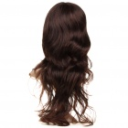 Fashion Long Wavy Hair Wigs - Brown