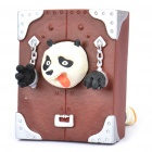 Cute KungFu Panda Po Figure Resin Business Card Holder
