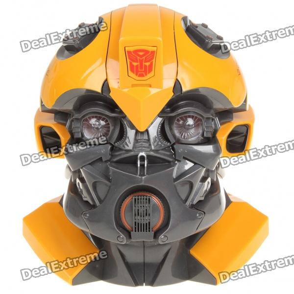 Cool Transformers Figure Coin Bank w/ Sound and Light Effects - Bumblebee (3 x AAA)