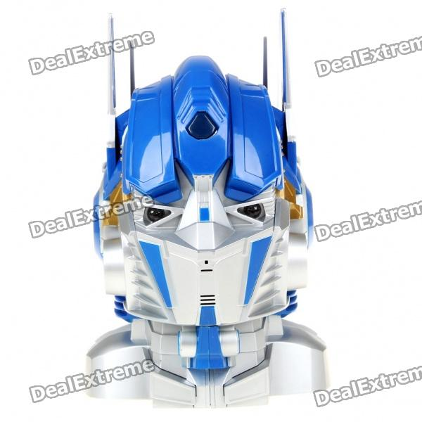 Cool Transformers Figure Coin Bank w/ Sound/Lighting Effects - Optimus Prime (3 x AAA)