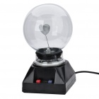 AC Powered Plasma Ball Red Light Lightning Sphere (220V / EU Plug)