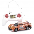 Cool 2-CH R/C 49MHz 1:32 Scale Plastic Racing Car (Orange)