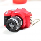 Unique Camera Style 1 x LED White Photoflash Light Keychain w/ Sound Effect (Random Color/3 x AG13)