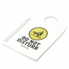 Unique Do Not Disturb Style Notebook (60-Sheet)
