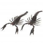 Scary Lifelike Soft Rubber Scorpion Toys (Pair)