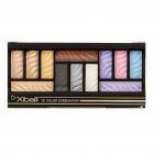Cosmetic Makeup 12-Colors Eyeshadow with Brush & Small Mirror