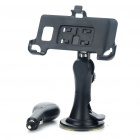 Car Swivel Mount Holder w/ Car Charger Set for Samsung i9100 Galaxy S2