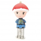 Cute Chinese Style Car Spring Display Toy Doll