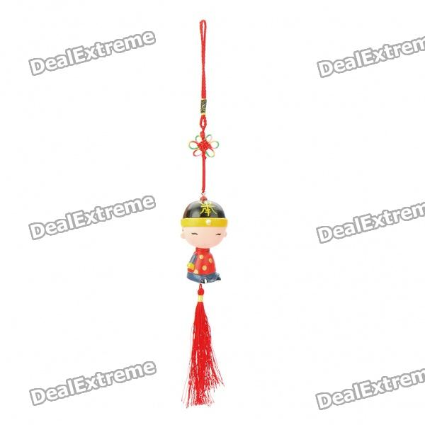 Cute Chinese Knot Style Display Toy Doll