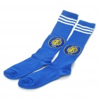 Inter Milan Football Club Logo Style Cotton Stockings - Pair