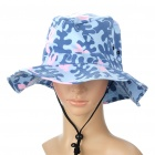 Stylish Outdoor Hat Cap - Camouflage Blue