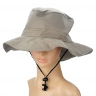 Stylish Outdoor Hat Cap - Grey