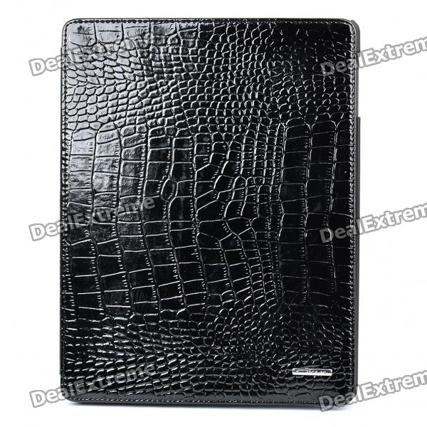 elegant-protective-crocodile-pattern-leather-case-for-ipad-2-black