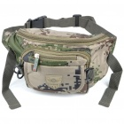 Stylish Camouflage Terylene Waist Bag