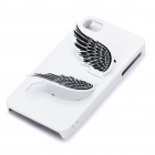 Designer's Protective PC Back Case with Screen Protector for iPhone 4 - White