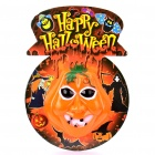 Halloween Pumpkin with Sound Effect & Flashing Light (3 x AA)