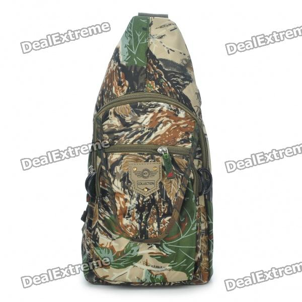 Cool Camouflage Terylene Messenger/Sling Bag stylish camouflage terylene waist bag