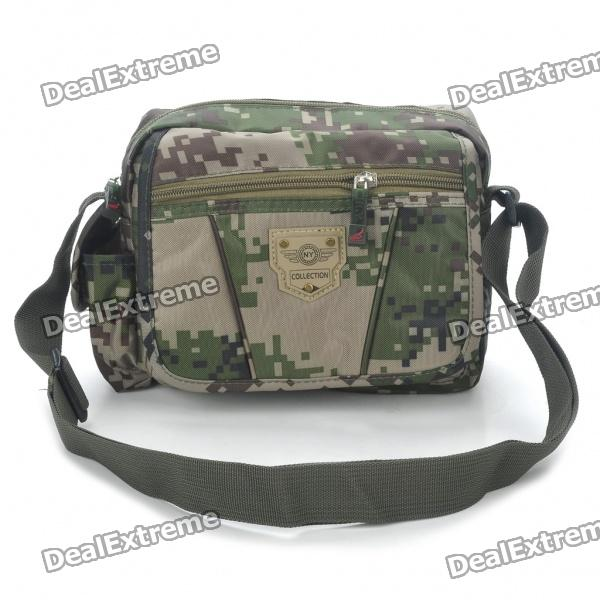 Cool Camouflage Terylene One Shoulder Messenger Bag stylish camouflage terylene waist bag