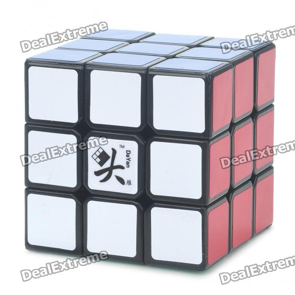 DAYAN 5 ZHANCHI 3x3x3 Brain Teaser Magic IQ Cube - Black brand new dayan wheel of wisdom rotational twisty magic cube speed puzzle cubes toys for kid children