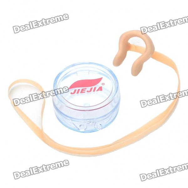 Silicone Swimming Nose Clip - Light Yellow