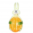 Unique Simulation Mandarin Orange Rabbit Multi-Color LED Lamp (3 x L1154H / Random Color)