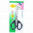CTS003 Stainless Steel Office Scissors - Black + Silver