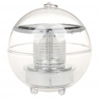 Stylish Ball Style Waterproof Solar Powered Light Activated Warm White Light Decorative Lamp
