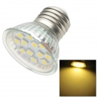 E27 1.8W 3200K 150-Lumen 12-5050 SMD LED Warm White Light Bulb (AC 220~240V)