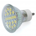 GU10 3.5W 5500K 270-Lumen 20-5050 SMD LED White Light Bulb (AC 220-240V)