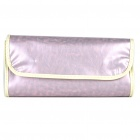 Tragbare Beauty Cosmetic Make-up Pinsel mit Light Purple Bag (12-Stück-Packung) Set