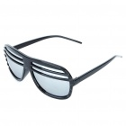 Fashion Reflective Glasses - Black