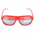 Fashion Reflective Glasses - Red