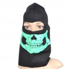 Glow-in-The-Dark Skull Style Headgear Balaclava Full Face Head Mask