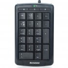 Genuine LENOVO USB 24-Key Business Numeric Keypad for Laptop/PC - Black (162cm-Cable)