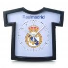 Football/Soccer Team Jersey Shaped Alarm Clock - Real Madrid (1 x AA)