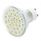 GU10 1.7W 30-LED 135-Lumen 3200K Warm White Light Bulb (220 ~ 240V AC)
