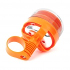 Dice Gambling Style Alarm Handlebar Bicycle Bell Ring - Orange