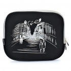 "Stylish Protective Soft Bag for Ipad/9.7"" Tablet PC - Black"