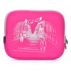 "Stylish Protective Soft Bag for Ipad/9.7"" Tablet PC - Pink"