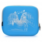 "Stylish Protective Soft Bag for Ipad/9.7"" Tablet PC - Blue"