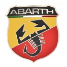 Fashion ABARTH Scorpion Style Metal Car Decorative Sticker