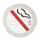 Fashion No Smoking Style Metal Car Decorative Sticker