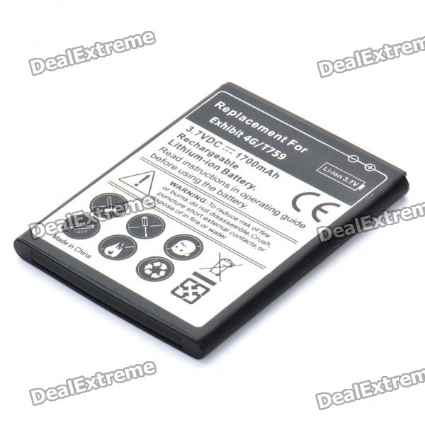 Replacement 3.7V 1700mAh Battery Pack for Samsung Exhibit 4G/T759