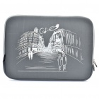 "Stylish Protective Soft Bag for 15.6"" Laptop Notebook - Grey"